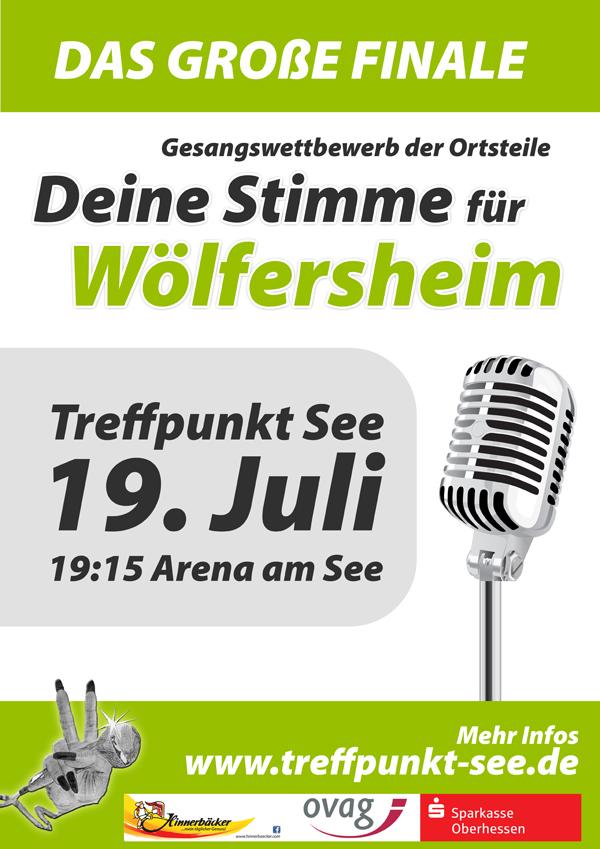 Deine Stimme für Wölferhseim - das große Finale am 19.07.